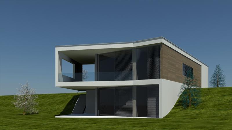 Projekt rodinného domu, Liptovský Mikuláš, mestská časť Mútnik